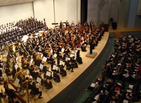 郡山市民オーケストラのコンサート