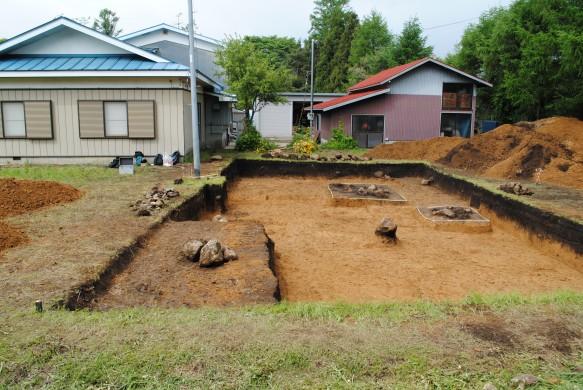 笹山原遺跡No.16 2012年の発掘区