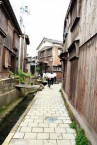 江戸期の町並みが残る宿根木