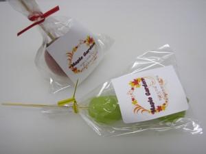 「アメと果実の女王」(姫りんご または ブドウの果実アメ)200円