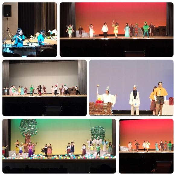 リズム劇「そらとぶ少年~子どものころの夢~」 オペレッタ「森は生きている」