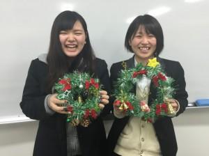 生活と環境Ⅰ(クリスマスリース)
