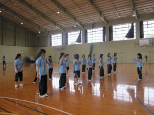 保育表現技術体育Ⅰ(創作ダンス)