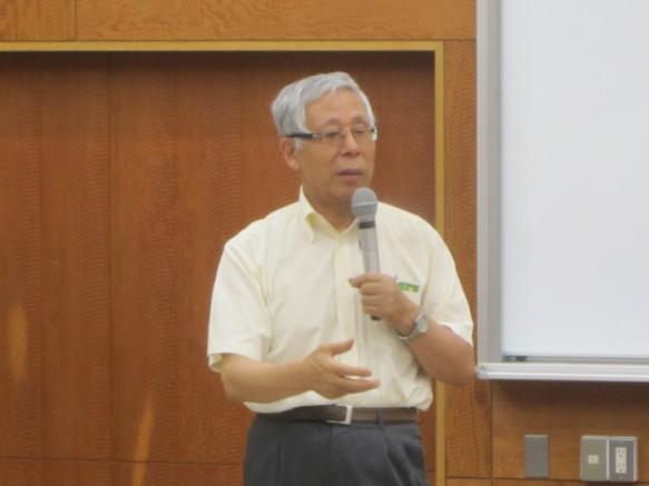 青葉学園園長 神戸信行先生