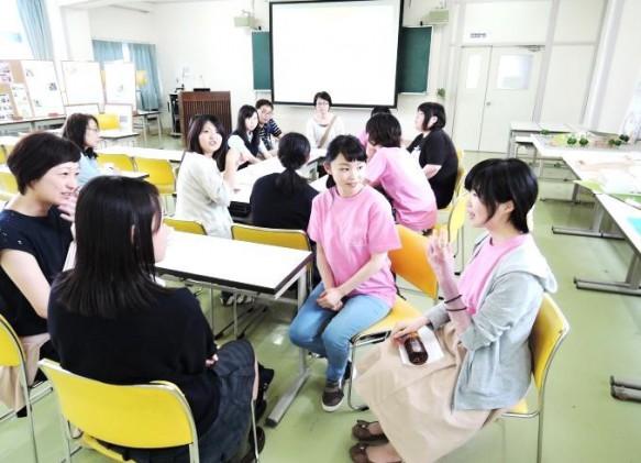在学生との懇談会