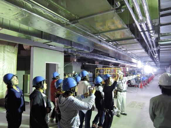 地下空間には地震の被害を防ぐ最新の技術が導入