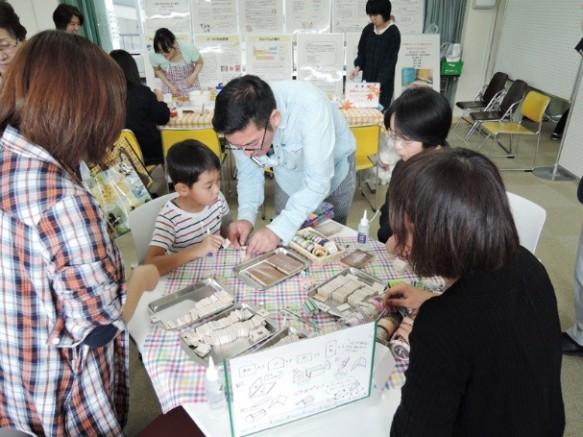 ミニハウス製作体験は小さい子供に人気