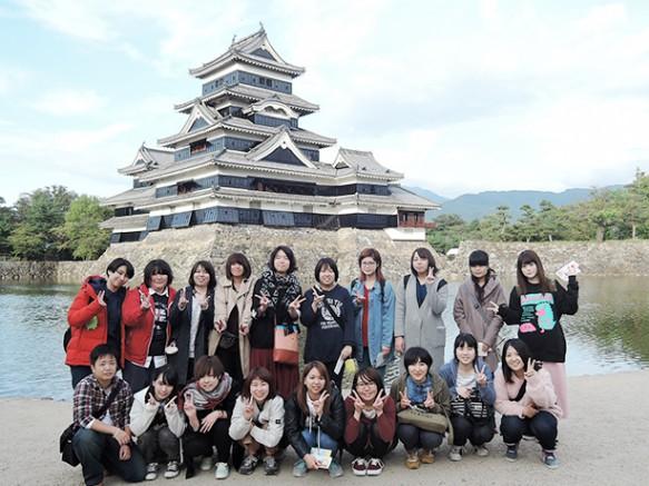 【松本城】現存天守12城の一つ松本城を見学