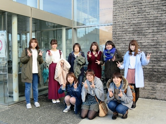 福島県男女共生センターに到着